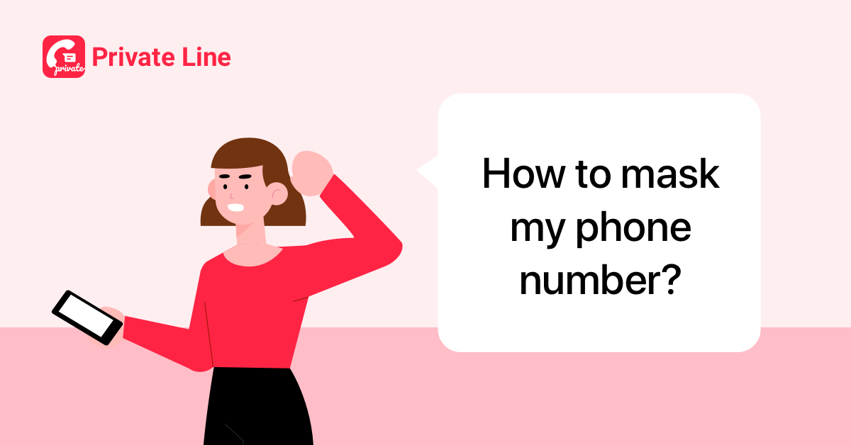 how to mask phone number 1200